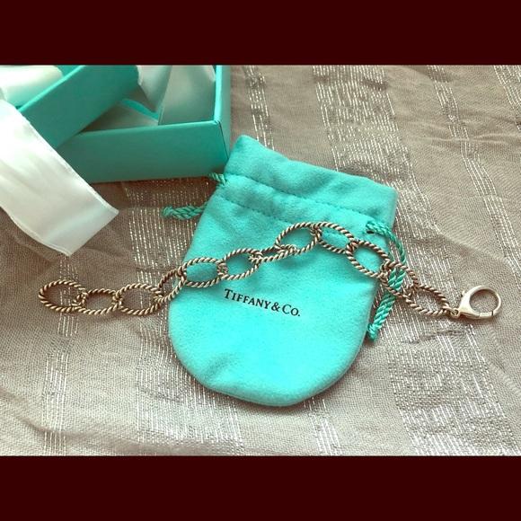 547afc9e94f6b Tiffany & Co. Sterling Silver Twist Link Bracelet